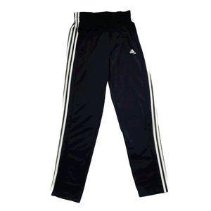Adidas Activewear Pants Men Medium Black 3 Stripes